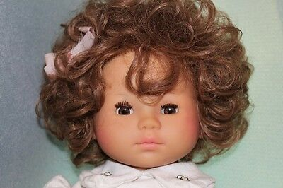 """Max Zapf 22"""" Curly Hair Toddler Girl Vintage 1985"""