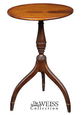SWC-Federal Candlestand, Seymour School, Boston, c.1810