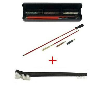 6 Piece Rifle Cleaning Kit AK, 7.62x39 7.62x54R 7mm Cleaning Rod FREE BRUSH