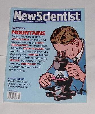 New Scientist Magazine 2Nd November 2002 - Mountains