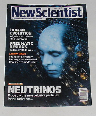 New Scientist Magazine 7Th December 2002 - Neutrinos