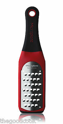 Microplane Artisan Extra Coarse Zester Grater Shredder  Italian Red Kitchen Rasp