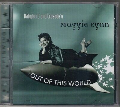 Babylon 5 and Crusade's Maggie Egan Out of This World Music CD, NEW SEALED