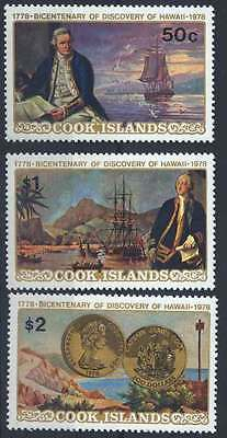 1978 Cook Island COIN CAPTAIN COOK Stamp 184