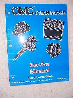 1998 OMC Stern Drive BY Service Manual Electrical / Ignition Wiring Diagrams  KK