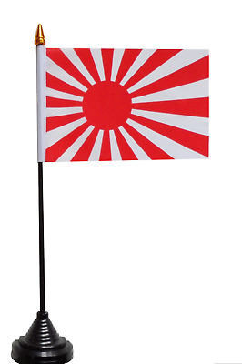 Japan Rising Sun Navy Ensign Polyester Table Desk Flag