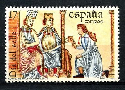 Spain 1986 SG#2880 Stamp Day MNH #A23335