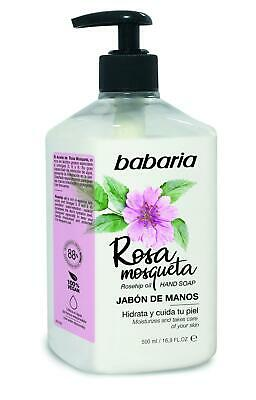 Babaria Rosehip Oil Pump Hand Soap 500ml
