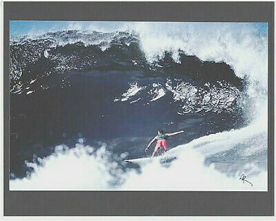 "Awesome 15 Foot Sunset Beach North Shore Oahu Giclee Photograph On 8X10"" Matt"