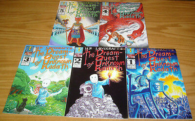 H.P. Lovecraft's Dream-Quest of Unknown Kadath #1-5 VF complete series 2 3 4 HTF