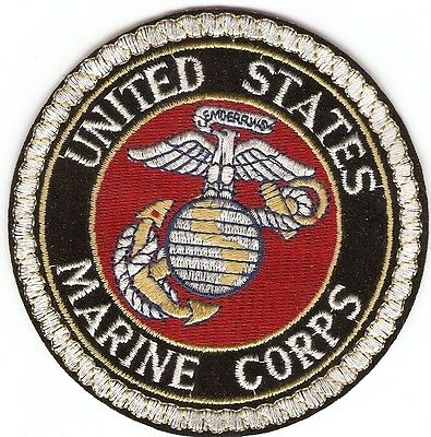 United States Marine Corps Usmc Embriodered Badge  - New Made