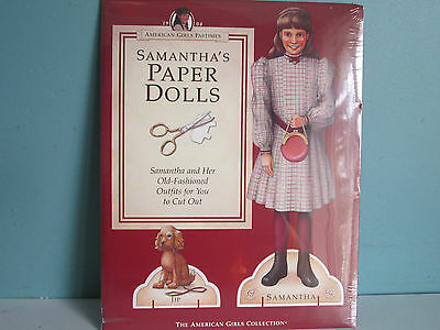 NEW! In Sealed Package!  American Girl SAMANTHA'S PAPER DOLLS Outfits to Cut Out
