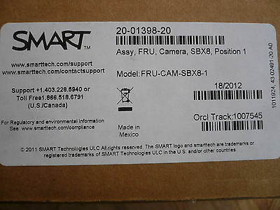 New Smart FRU-CAM-SBX8-1 20-01398-20 Replacement Whiteboard Camera 800 Series