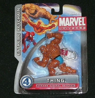 """Marvel Universe """"Thing"""" Extreme Figural Key Chain/fantastic 4/Ben Lee >NEW<"""
