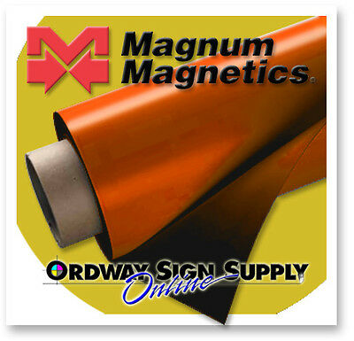"Magnum Magnetic Sheeting 10' x 24.375"" x .030""  30 mil Discounted"
