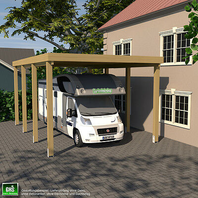 carport 3x6 f r caravan wohnwagen wohnmobil schneelast. Black Bedroom Furniture Sets. Home Design Ideas