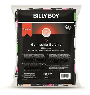 Frei Haus: Billy Boy Kondome 100er Beutel Mix-Sortiment