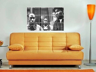 """A Tribe Called Quest 35""""x25"""" Inch Colour Mosaic Wall Poster Rap Hip Hop"""