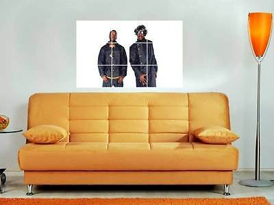 """Outkast 35""""x25"""" Inch Mosaic Wall Poster Rap Hip Hop Andre 3000 & Boi Boi"""
