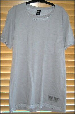 BNWOT Mens XL 107 MAXX Brand 100% Cotton T-Shirt Grey