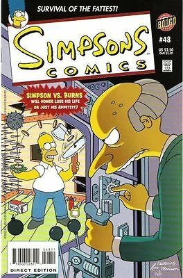 Bongo comics Simpsons 48 NM- FREE UK POST