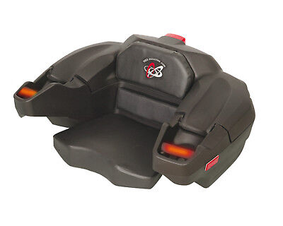 Atv Trunk Box Storage Seat 2 Up Passenger Double Ride Heated Passenger Grips