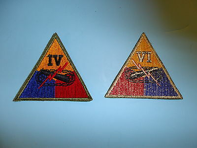 b1223 WW 2 US Army 4th Armored Corps IV patch