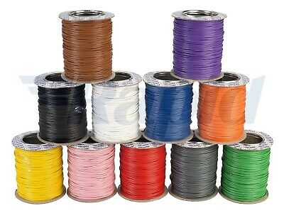 RAPID 16/0.2 Electrical Equipment Wire Cable (100m Reel) - 11 Colour Options