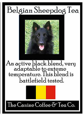 Belgian Sheepdog Tea -   gourmet   tea   in collectible tin