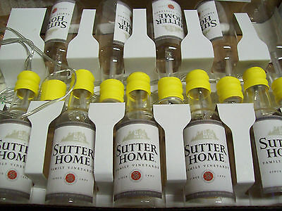 Sutter Home Wine Chardonnay Holiday Bar Lights   6 ft strand 10 bottles Flashing