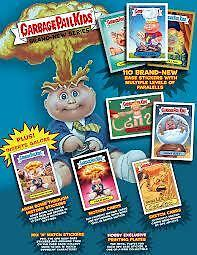 2012 Topps Garbage Pail Kids GPK Bran New Series 1 BNS1 GROSS GREEN 110-card set