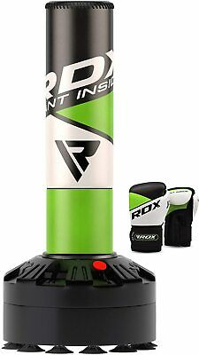 RDX Filled 5FT Boxing Punch Bag With Gloves Chain MMA Punching Training