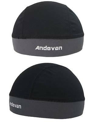 2 Andevan™ skull cap/helmet liner w/Coolmax for biking,cycling,Skiing one size
