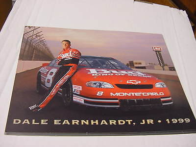 Dale Earnhardt Jr. Budweiser-King of Beers   #8  Postcard  1999