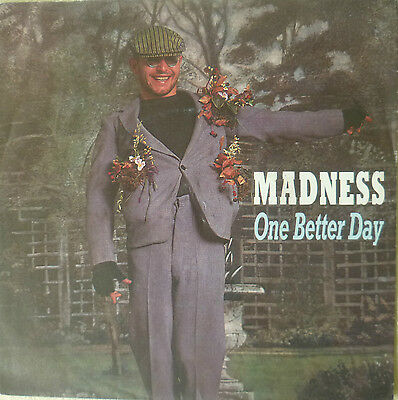"7"" 1984 RARE SKA ! MADNESS : One Better Day //MINT-?"