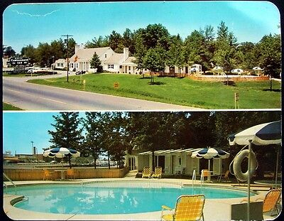 Postcard - The Butler's Canvasback Inn & Cottages, Perryville, Maryland - 1960s