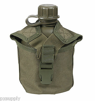 Canteen Cover Molle Compatible 1 Quart Olive Drab Rothco 40111