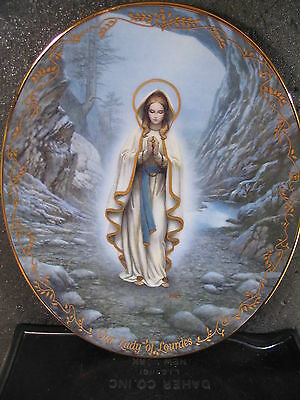 Bradford 1994  OUR LADY OF LOURDES Visions of Our Lady  Ltd Ed Plate