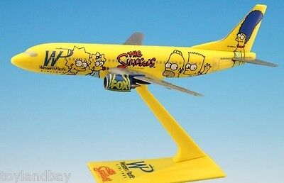 Flight Miniatures Western Pacific Bart Simpson Boeing 737 1:200 Scale Simpsons