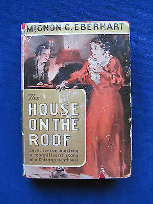 The House on the Roof by MIGNON G. EBERHART - Vintage Chicago Mystery
