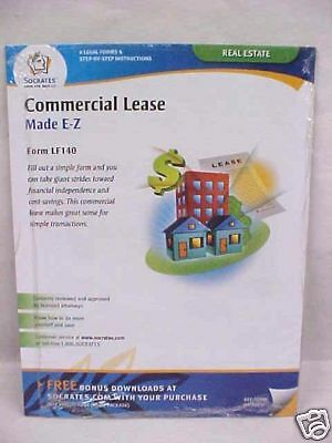 """NEW! SOCRATES """"COMMERCIAL LEASE"""" MADE E-Z"""