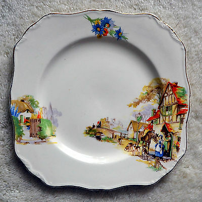 "J&G MEAKIN "" THE OLD DAYS "" Sunshine SERVING PLATE"