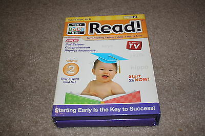 Your Baby can Read Volume 2, Early Reading System *Brand New Sealed*