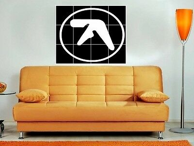 "Aphex Twin Big 35""x33"" Mosaic Montage  Wall Poster"