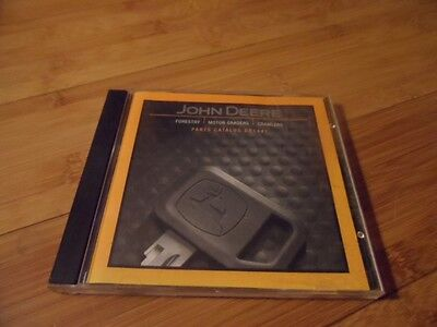 John Deere OEM 770C CH Grader 700H Crawler 640 Forestry Parts Catalog CD Disc