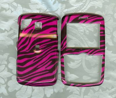 PINK ZEBRA PHONE COVER CASE PANTECH REVEAL C790 AT&T