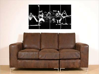 """Ac/dc Big 35""""x23""""mosaic Wall Poster Acdc Angus Young"""
