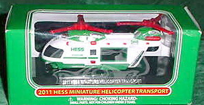2011  Mini Hess Helicopters Fresh Out Of The Case, Mint Box