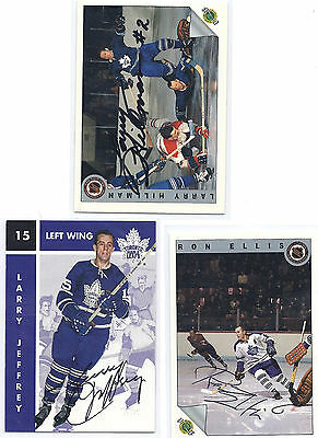 Larry Hillman Signed / Autographed Hockey Card Toronto Maple Leafs 1992 Classic