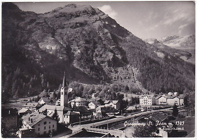 Gressoney St. Jean - Aosta - Panorama - Viagg. -46518-